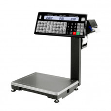 Торговые весы с печатью этикеток ВПМ-15.2-Т