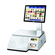 Торговые весы с печатью этикеток Весы CAS CL7000-15S