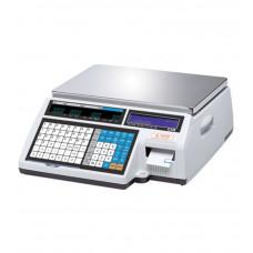 Торговые весы с печатью этикеток CAS CL5000