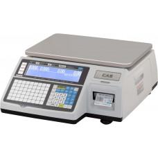 Торговые весы с печатью этикеток Весы CAS CL3000-30B