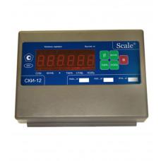 Весовой терминал индикатор СКИ-12