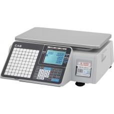 Торговые весы с печатью этикеток Весы CAS CL3000J-30B