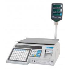Торговые весы с печатью этикеток CAS LP-15R