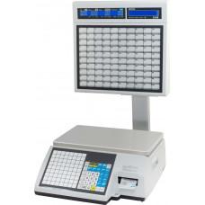 Торговые весы с печатью этикеток Весы CAS CL5000J-15IS